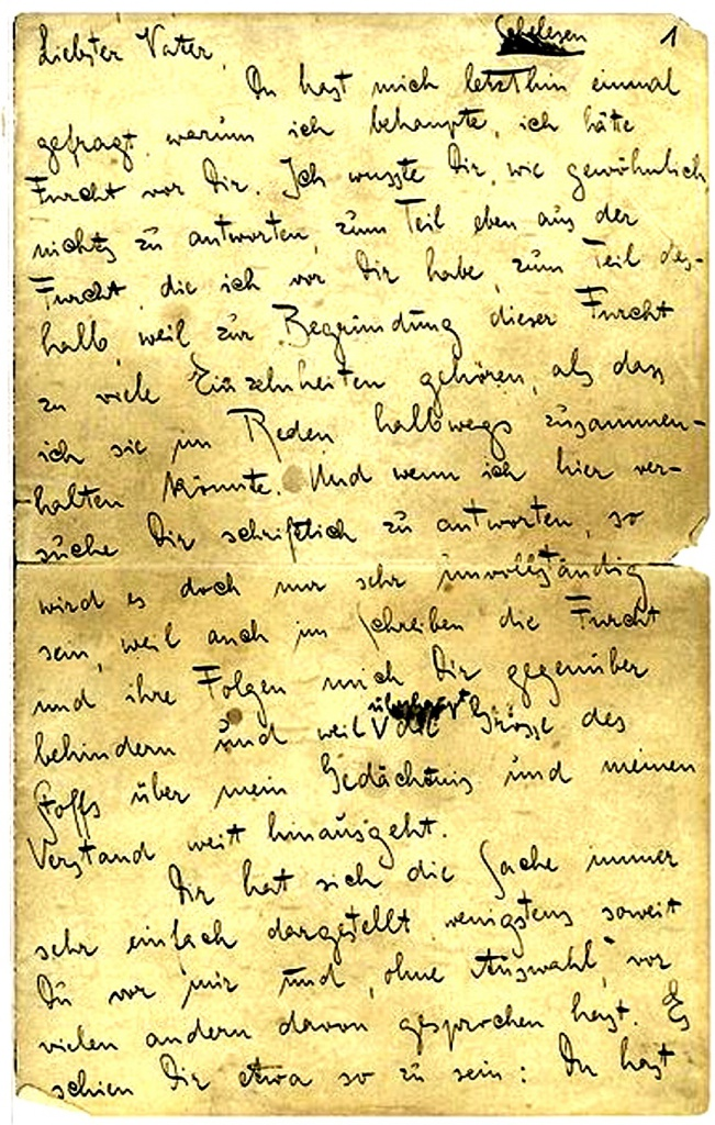 Book Cover: Kafka Franz, Lettera al padre