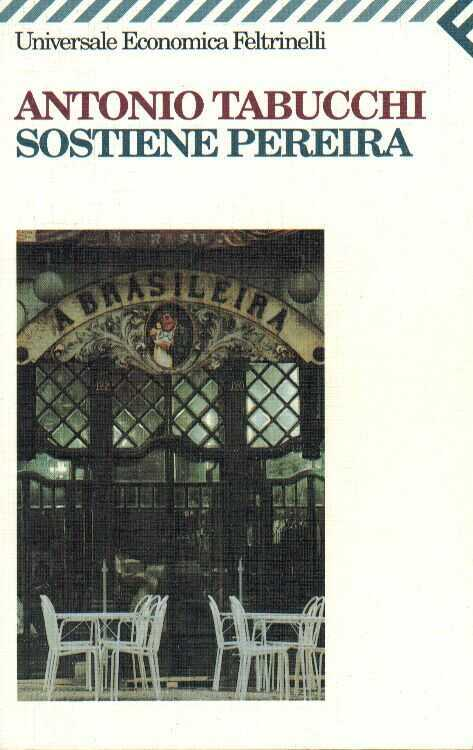 Book Cover: Tabucchi Antonio, Sostiene Pereira